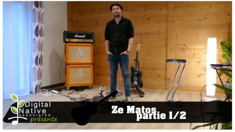 ZeMatos de Mathieu (guitariste des Jack's Sound)